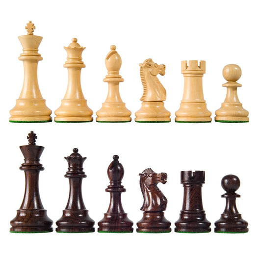 British Wooden Chess Pieces