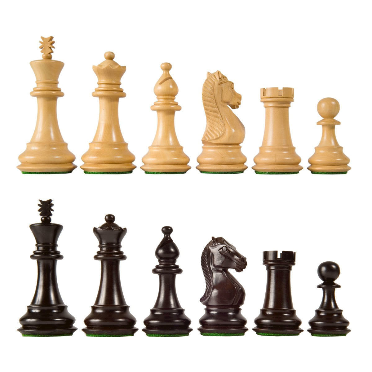 Majestic Staunton Wooden Chess Pieces