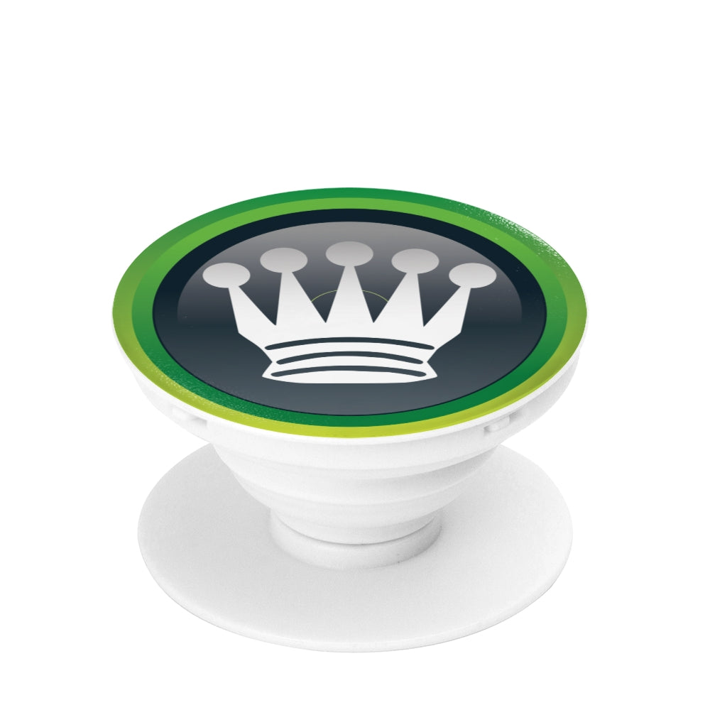 Queen pop socket, collapsible Grip And Stand for Phones & Tablets