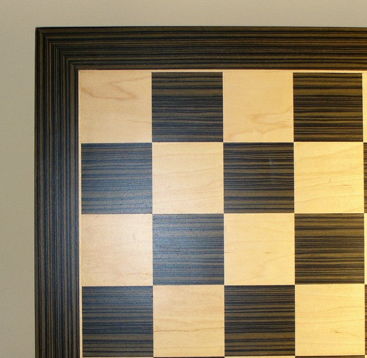"14"" Ebony & Maple veneer Board"
