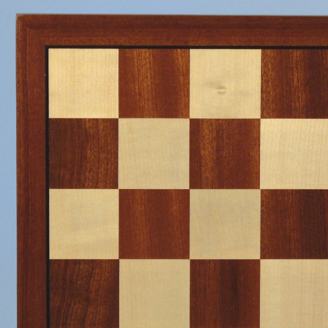 World War 2 Chess Pieces with Sapele Maple Veneer Board