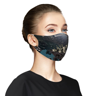 Fantasy chess board Cloth Face Mask For Adults