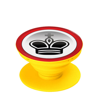 King pop socket, collapsible Grip And Stand for Phones & Tablets
