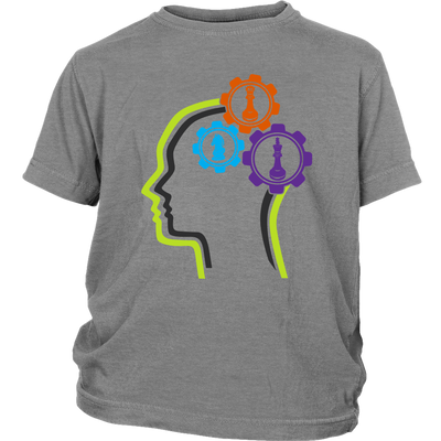 Chess in the mind - Chess Gears - Youth T-Shirt