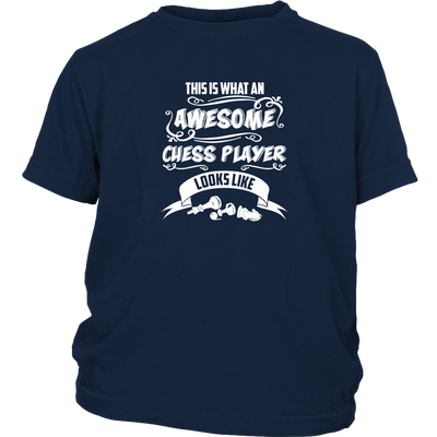 This is what an awesome chess player looks like - Youth T-Shirt