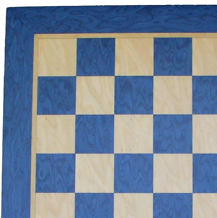15.5 inch Blue and Tan Veneer Board