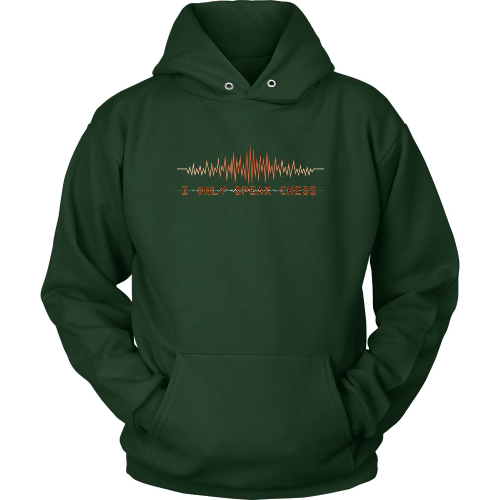 I only speak chess - Unisex Hoodie