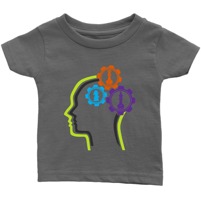 Chess in the mind - Chess Gears - Infant T-shirt