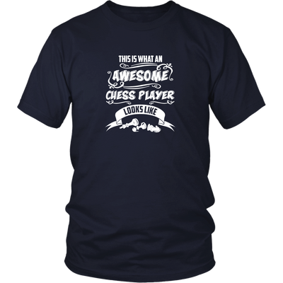 This is what an awesome chess player looks like - Adult Unisex T-Shirt