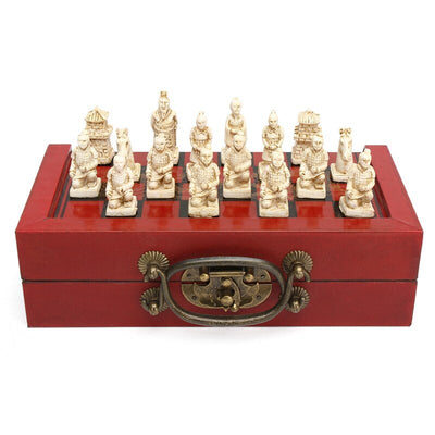Terra-Cotta Warriors Chess Set