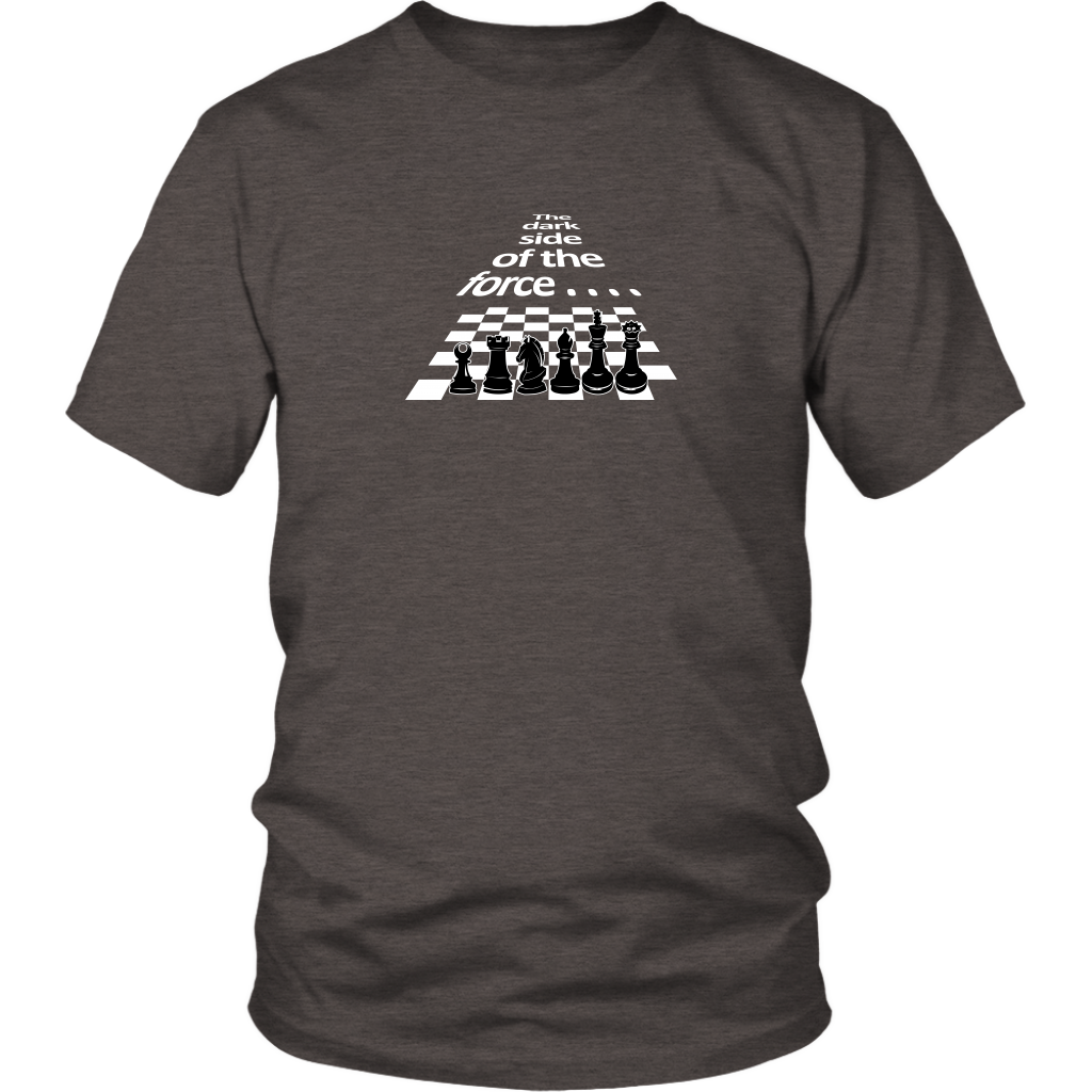 The dark side of the force - Chess pieces - Unisex T-Shirt