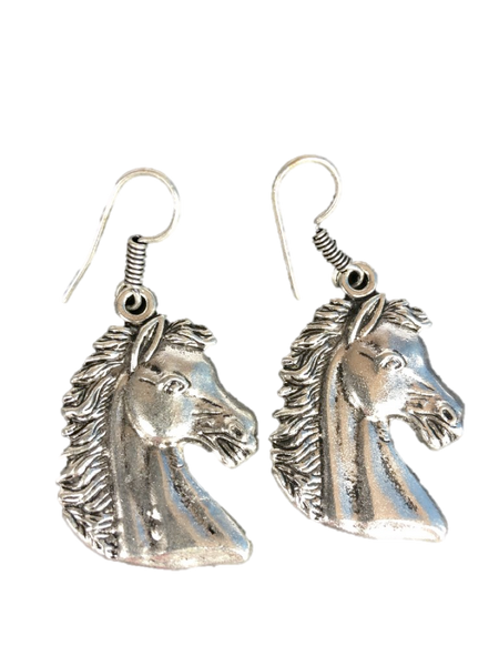Lightweight Chess Knight Earrings