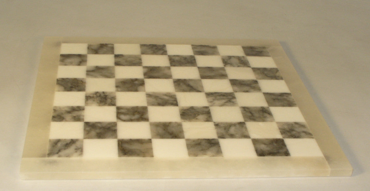 Alabaster Chess Board