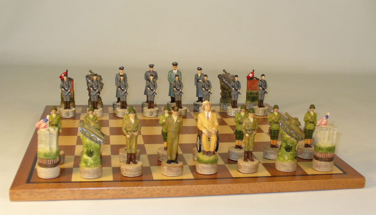 WWII Germany men on Sapele Maple Board