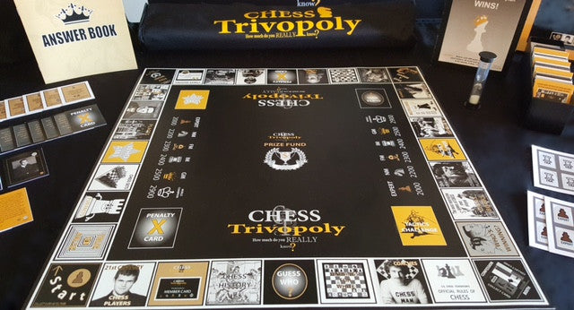 Chess Trivopoly - Chess History and tactics game