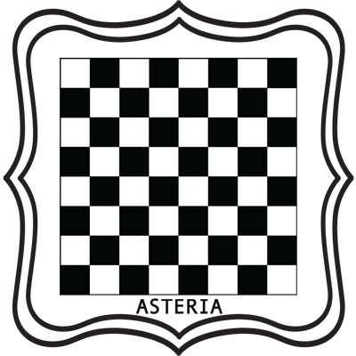 Removable Vinyl Chess Board