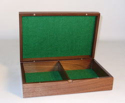 Walnut Veneer Chess box