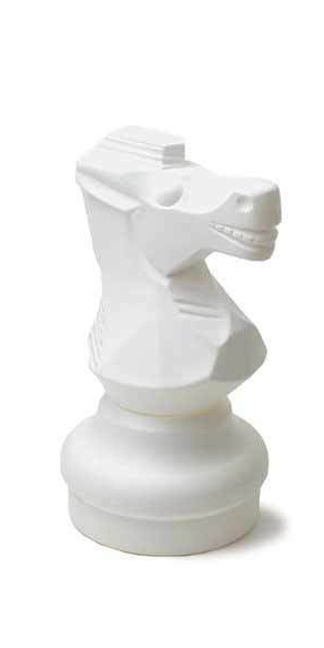 "Indoor / Outdoor Garden Plastic Chess Individual Pieces (12"" King)"