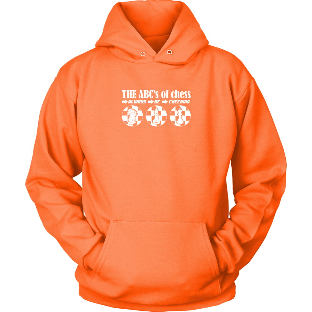 The ABC's of Chess - Always Be Checking - Adult Unisex Hoodie