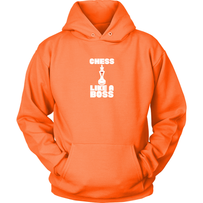 Chess Like a Boss - Adult Unisex Hoodie