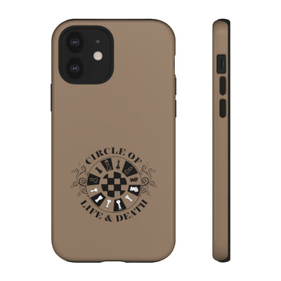Circle of life and death - Chess Pieces - Premium Tough Phone Case