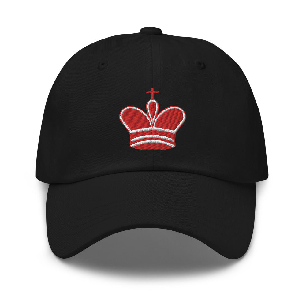 King embroidered Dad hat