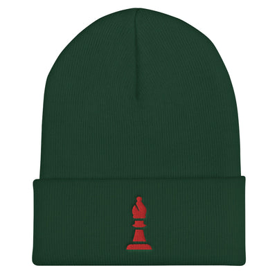 Bishop embroidered Cuffed Beanie