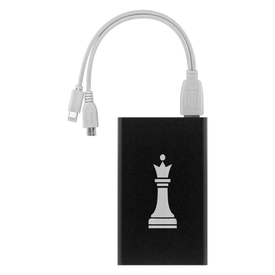 Chess Queen laser etched Lithium-Ion power bank