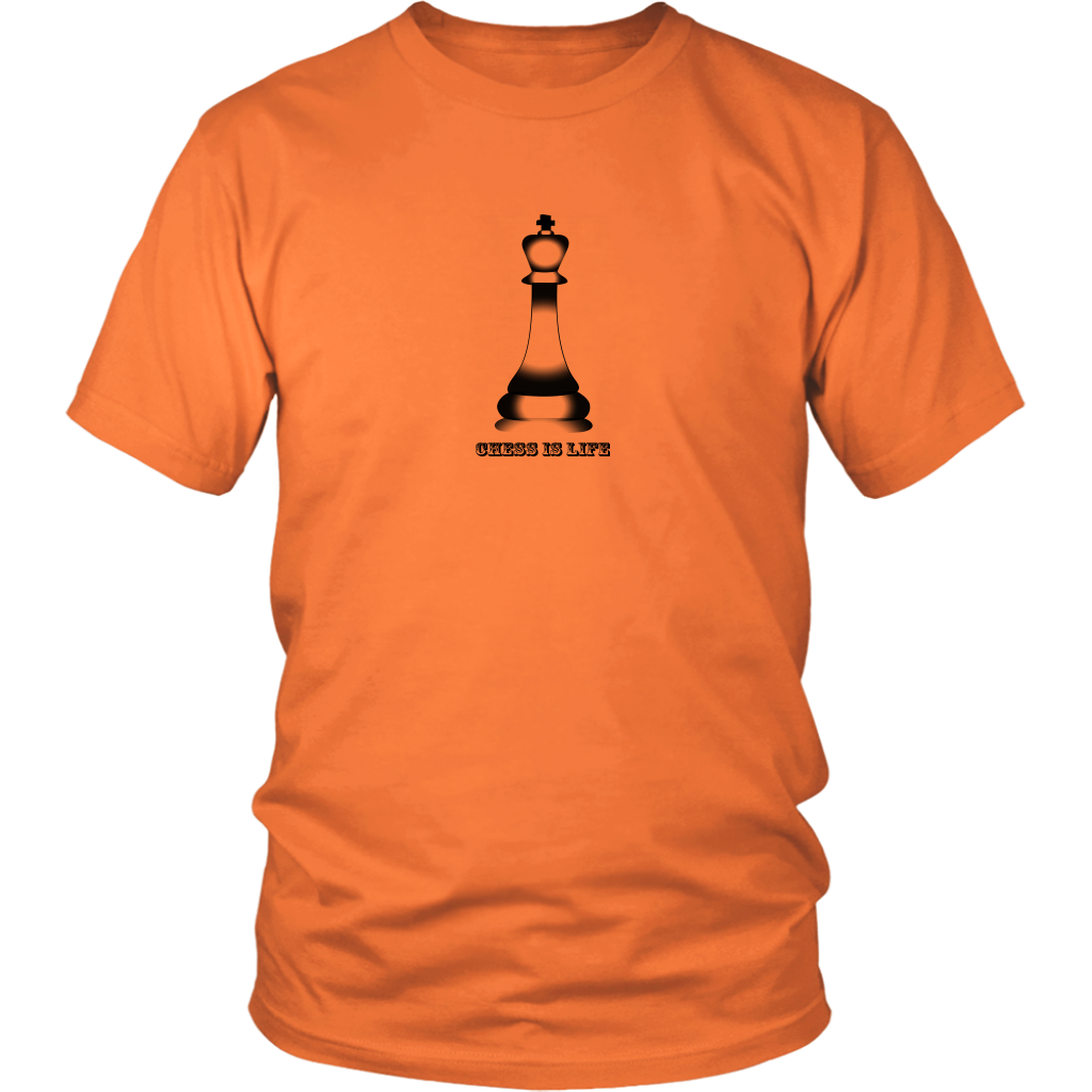 Chess is life - Adult Unisex T-Shirt