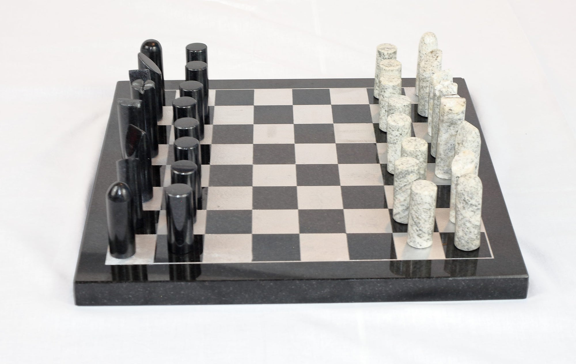 Granite simpleton chess set
