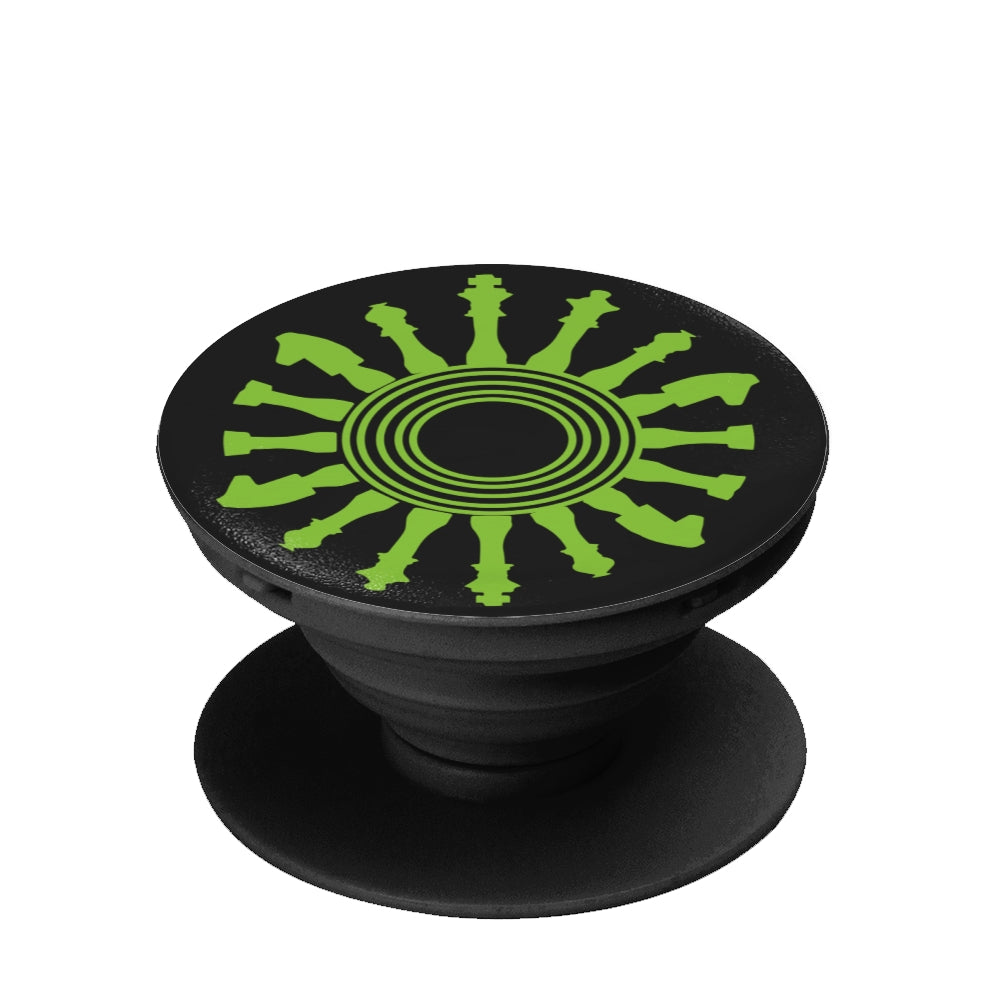 Chess Thinking collapsible Grip And Stand (pop socket like) for Phones & Tablets