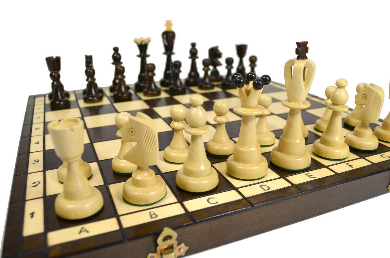 Lviv Wooden Chess Set