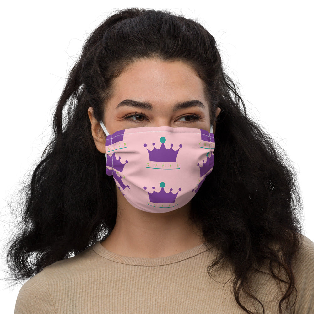 Chess Queen Premium face mask