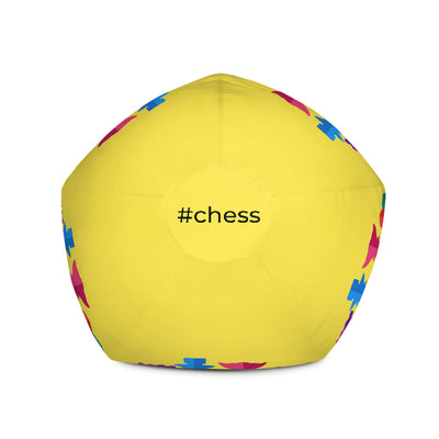 Colorful chess pieces Bean Bag Chair w/ filling