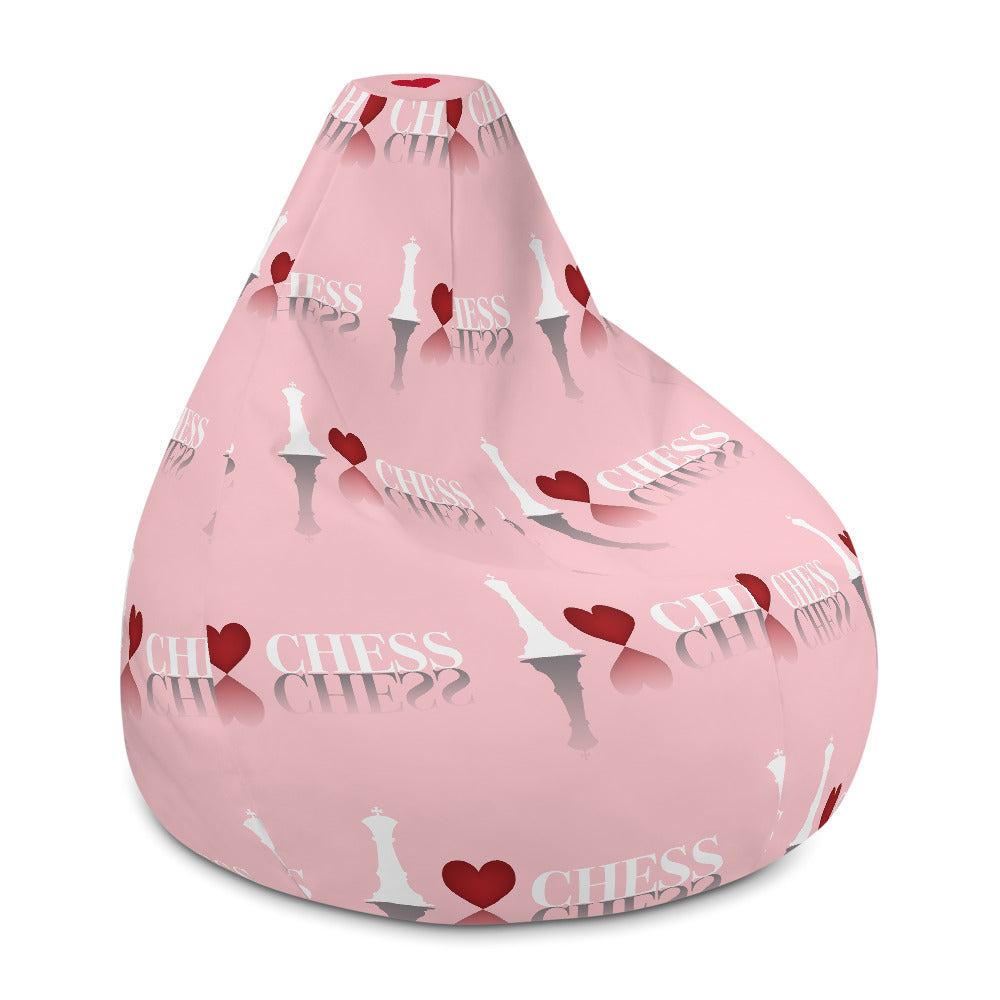 I heart chess Bean Bag Chair w/ filling