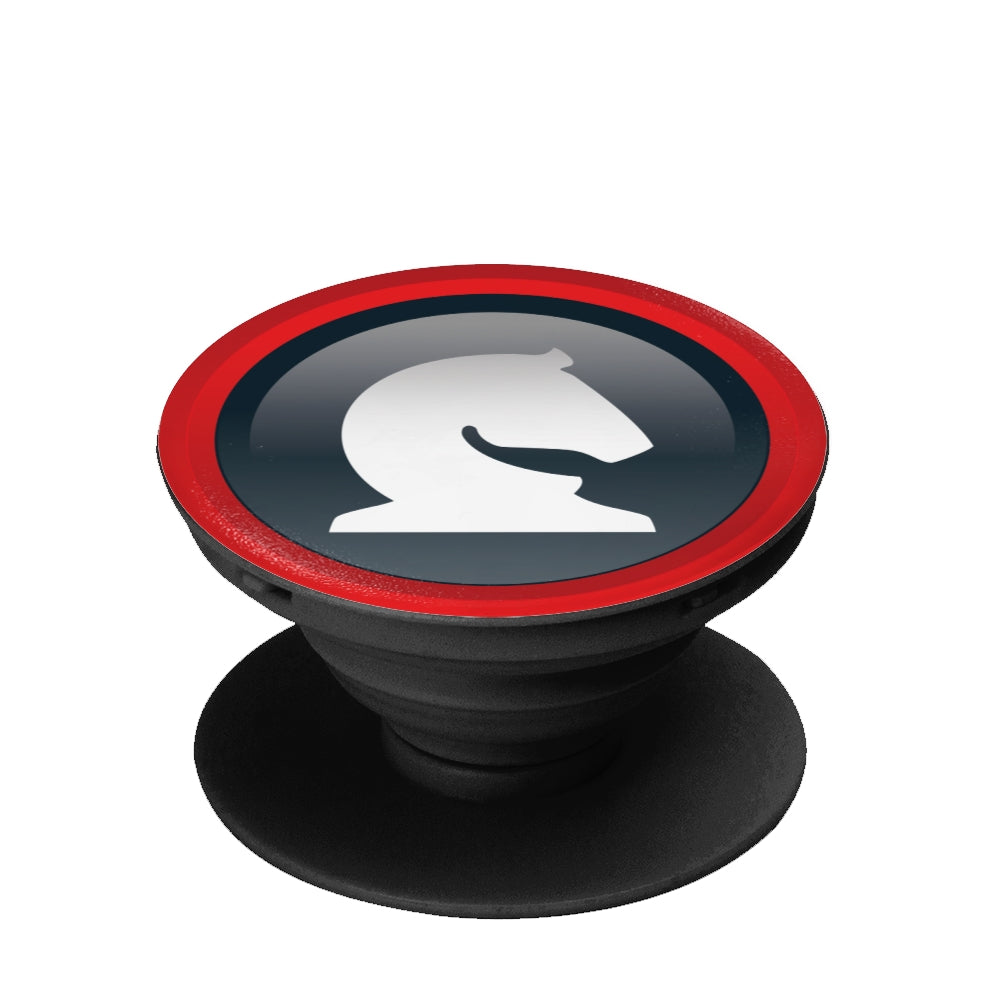 Knight pop socket, collapsible Grip And Stand for Phones & Tablets