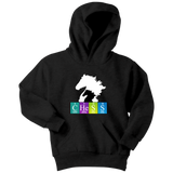 Chess Atomic Table White Knight - Youth Unisex Hoodie