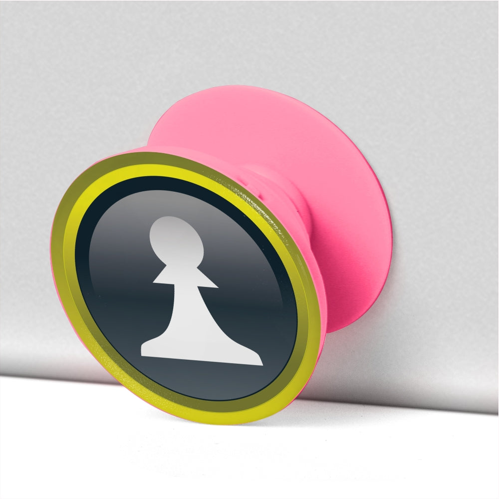 Pawn pop socket, collapsible Grip And Stand for Phones & Tablets