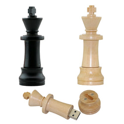 U disk Wood Chess USB 2.0 usb memory sticks / flash drives 4GB 8GB 16GB 32GB 64GB