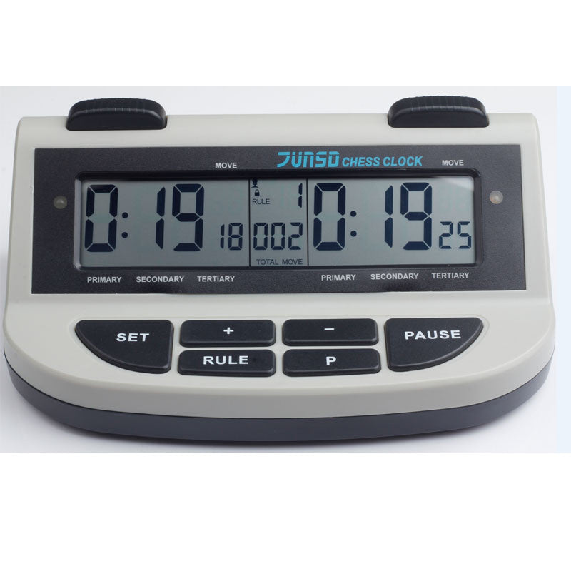 JUNSD Electronic Professional Digital Chess Clock