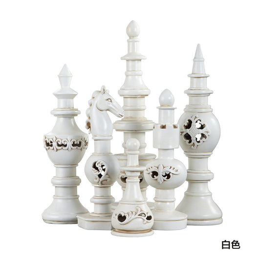 European style   luxury hotel / living room set six Home Furnishing yazun chess art decoration
