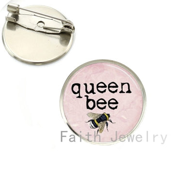 Queen Bee Chess Pins