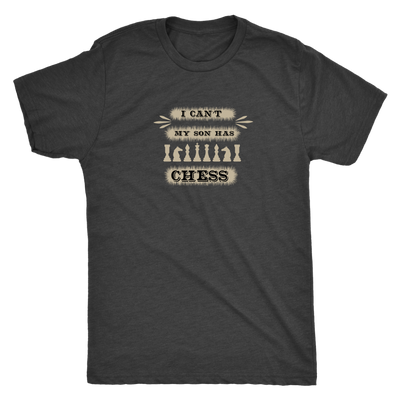 I can't, my son has chess - Triblend T-Shirt