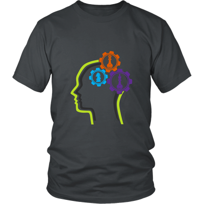 Chess in the mind - Chess Gears - Unisex T-Shirt