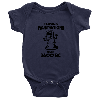 Chess Causing Frustrations since 2600 BC - Baby Onesie