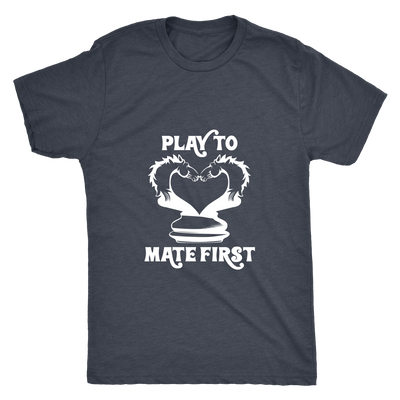 Play to mate first - Mens Triblend T-Shirt