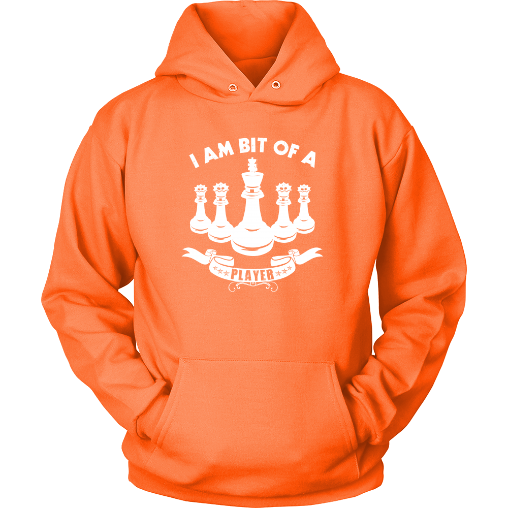 I am a bit of a player - Unisex Chess Hoodie