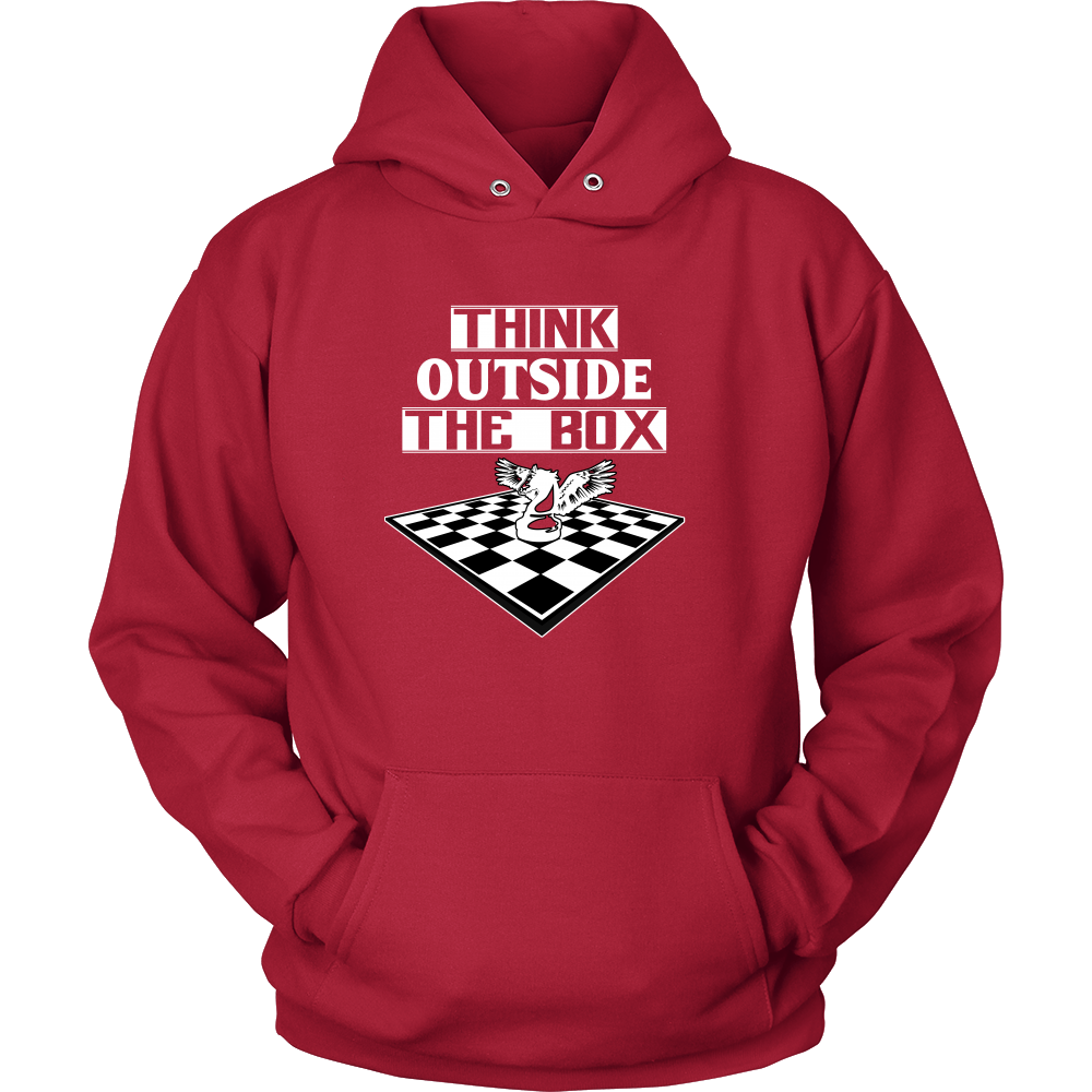 Think outside the box - Unisex Hoodie