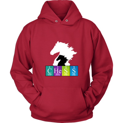 Chess Atomic Table - Unisex Hoodie