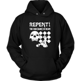 Repent! The end game is near - Unisex Chess Hoodie